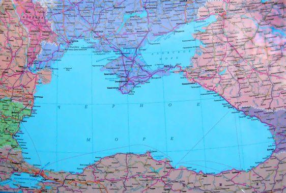 Карта курортов Азовского побережья России
