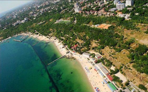 Пляж ''Дельфин'' в Одессе