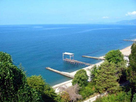 Вид на территорию пляжа ''Энергетик''