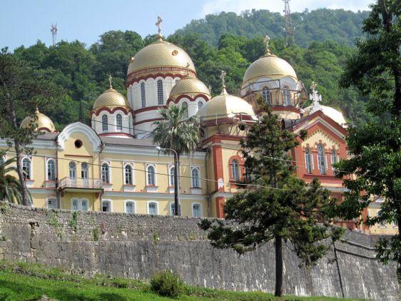 Симоно-Кананитский монастырь в Новом Афоне