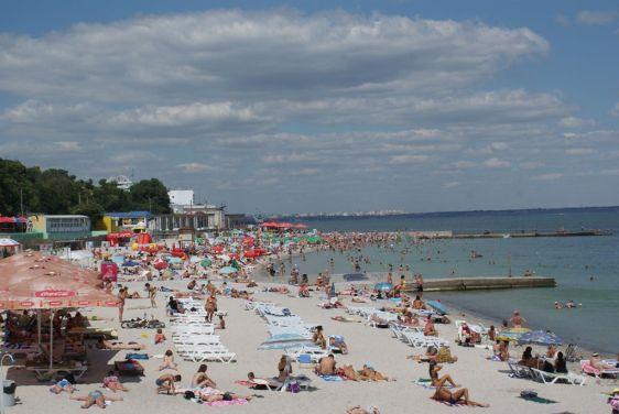 Пляж ''Ланжерон''