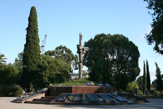 Парк Славы - дань мужеству и героизму абхазских воинов