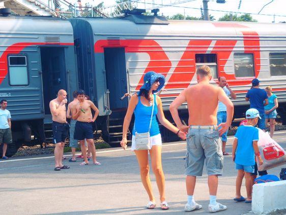 На Азовское море можно поехать поездом