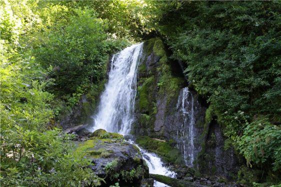 Водопад ''Птичий'' получил такое название из-за своей высоты