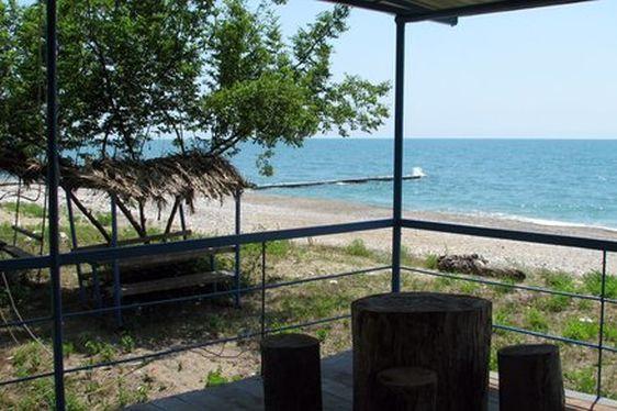 Пляж от мини-отеля ''Ручей''