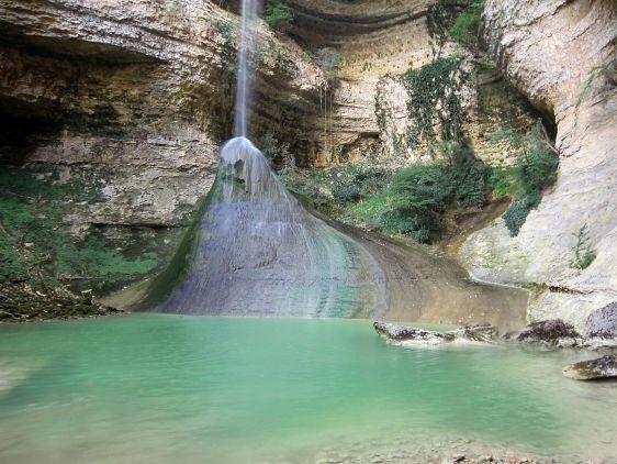Шакуранский водопад, точный ''прицел''