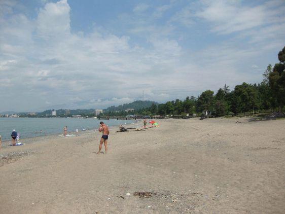 Cинопский песчаный пляж