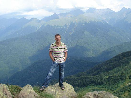 Осенью Кавказские горы особенно красивы