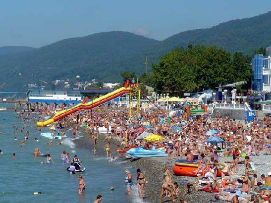 Сочи в августе - это туристический аншлаг со всеми вытекающими последствиями