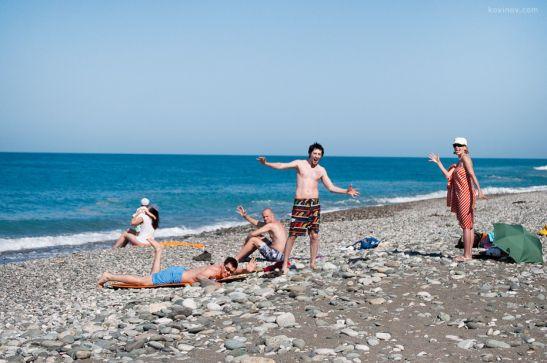 Июнь в Абхазии это свежий морской воздух, южный загар и хорошее настроение
