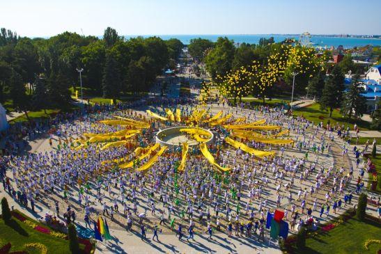 В Анапе День защиты детей празднуется в грандиозных масштабах
