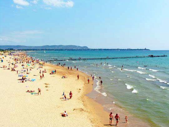 Море в Анапе в июле теплое и очень чистое